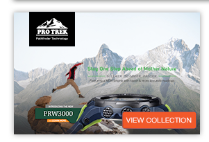 PRO TREK Mens Analog & Digital Watches